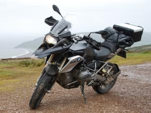 BMW motorfiets gestolen