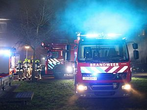 'Vuurwerk veroorzaakte brand Insulindesingel'
