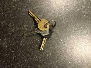 Sleutels gevonden bij het pannenkoekenhuis