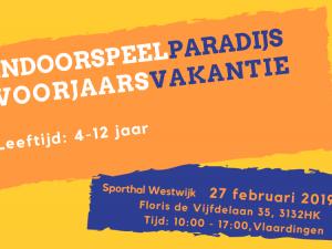 Indoorspeelparadijs in Sporthal Westwijk