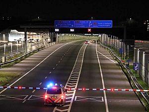 Automobilist gewond na botsing in Ketheltunnel