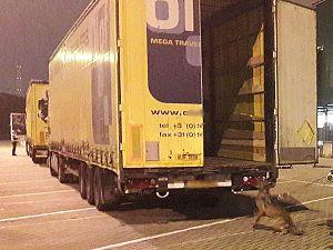 Steeds meer illegalen in vrachtwagens
