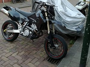 Motor gestolen vanuit de Beukestraat
