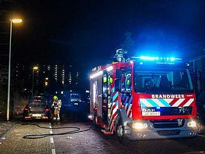 Opnieuw auto in brand in Vlaardingen