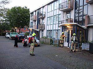 Woningen ontruimd vanwege gaslek