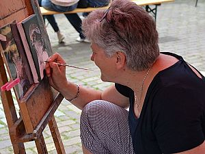 Montmartre aan de Lijnbaan tijdens Open Ateliers