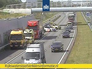 File door ongeval op de A4