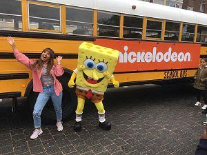 Spongebob leukt buitenspeeldag op!