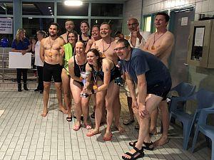 Zwemmarathon in de Kulk