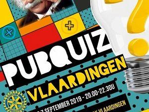 Doe mee met dé Pubquiz ! (voor het goede doel)