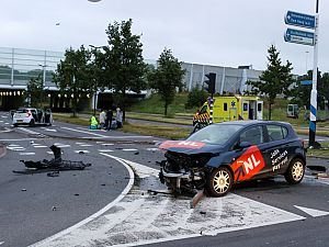 Vijf gewonden bij ernstige aanrijding