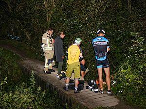 Mountainbiker gewond na val in Broekpolder