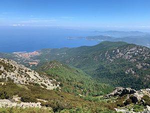 De vakantiegroeten uit Elba