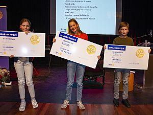 Nina de Jong wint het Vlaardings Kinderdictee