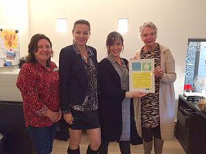 Bij Hospice De Margriet zorgen ze goed voor 'hun' vrijwilligers