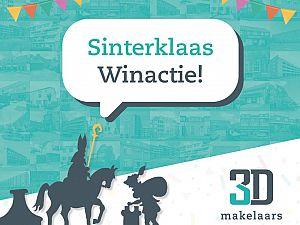 Sinterklaas Winactie bij 3D Makelaars