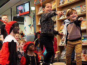Feest voor kinderen in de bieb
