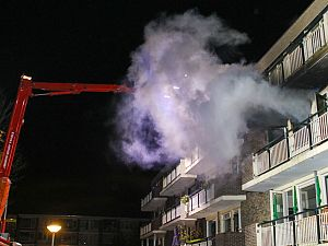 Uitslaande brand: woningen onbewoonbaar