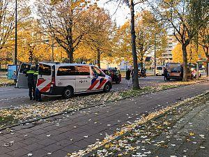 Kop-staartbotsing op Holysingel