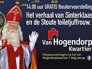 Sinterklaas Openluchttheater op het Van Hogendorpkwartier