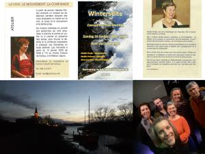 Winterstilte in Vlaanderen en Wallonië