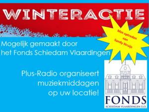 Radio Plus live vanuit Marnixflat en Zonnehuis