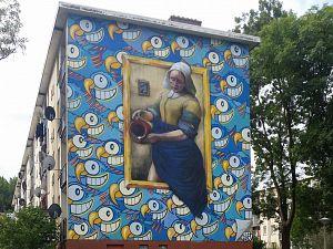Fractie Boers wil binnenstad opfleuren met straatkunst