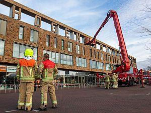 Letter winkelcentrum Van Hogendorp brokkelt af