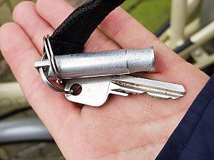Van wie is deze sleutel?