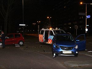 Veel schade bij aanrijding Dillenburgsingel