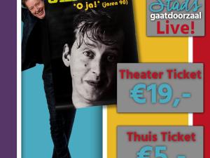 Jan Rot trapt eerste theatervoorstelling in juni af!