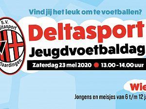 Deltasport organiseert Jeugdvoetbaldag