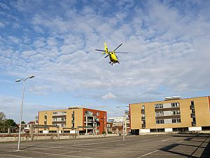 Vroege inzet traumahelikopter
