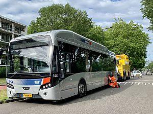 Bus met panne op de Dillenburgsingel