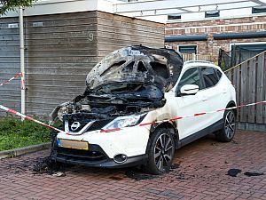 Auto uitgebrand in Kemperhof