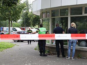 Bedrijf Spoorsingel voor tweede keer beschoten