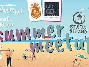 Kom naar de IKV Summer Meetup op het Stadsstrand