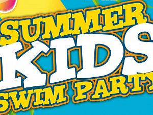 Summer Kids Swim party in De Kulk