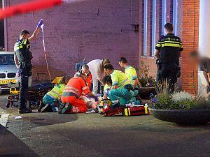 Man zwaargewond na val uit flat