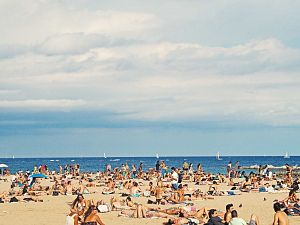 Kom niet naar het strand!