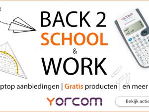 Back 2 School & Work!