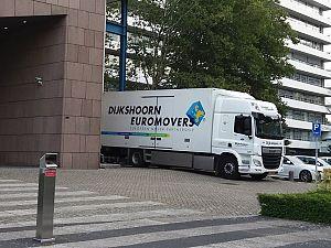 Dijkshoorn Euromovers: zorgeloze bedrijfsverhuizingen