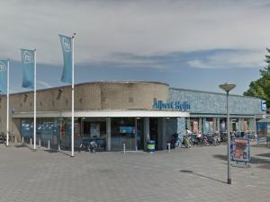 Grote pinstoring bij winkels Albert Heijn