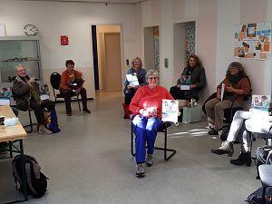Bibliotheek de Plataan prijst taalvrijwilligers