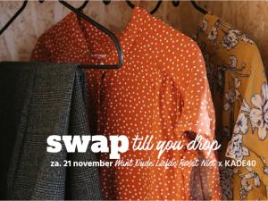 Kledingruil: 'Swap till you drop'
