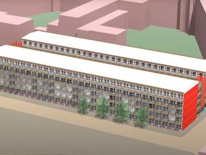 320 tijdelijke containerwoningen op Unileverterrein