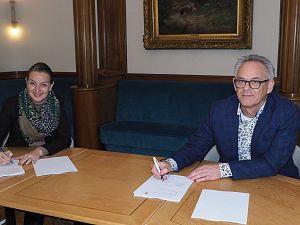 Overeenkomst Floreskwartier getekend