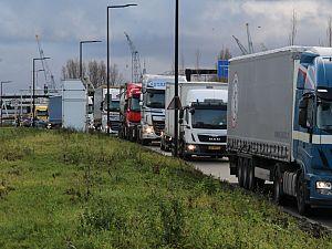 Drukte bij DFDS Vijfsluizen geregeld door Rijkswaterstaat