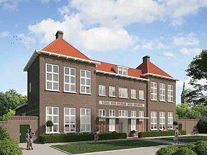 Eindelijk schot in woningbouw oud schoolgebouw