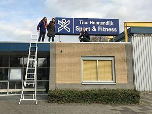 Tino Hoogendijk in actie tegen Coronamaatregelen